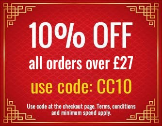 10% off orders over £27 with code CC10