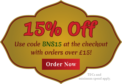 15% off orders over £15