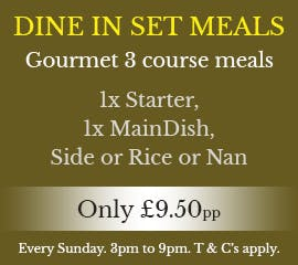 Dine In Offer