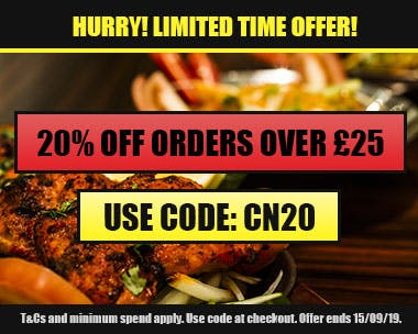 20% off orders over £25 with code CN20! Expires 15/09/19.