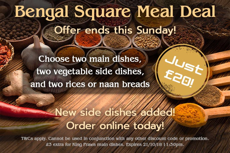 Bengal Square Meal Deal