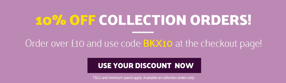 10% Off Collection Orders Over £10