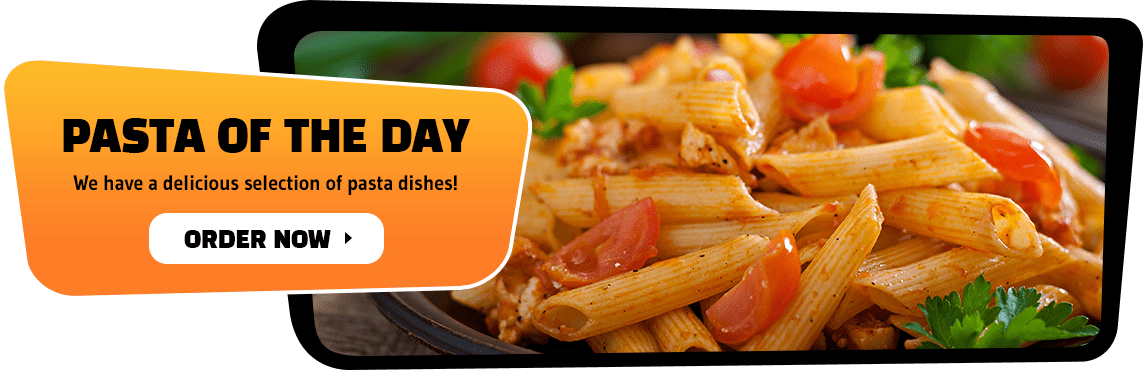 Check out our delicious selection of pasta dishes!