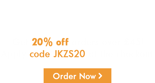 20% Off Orders Over £45