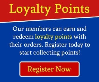 Earn and redeem loyalty points when you become a member today!