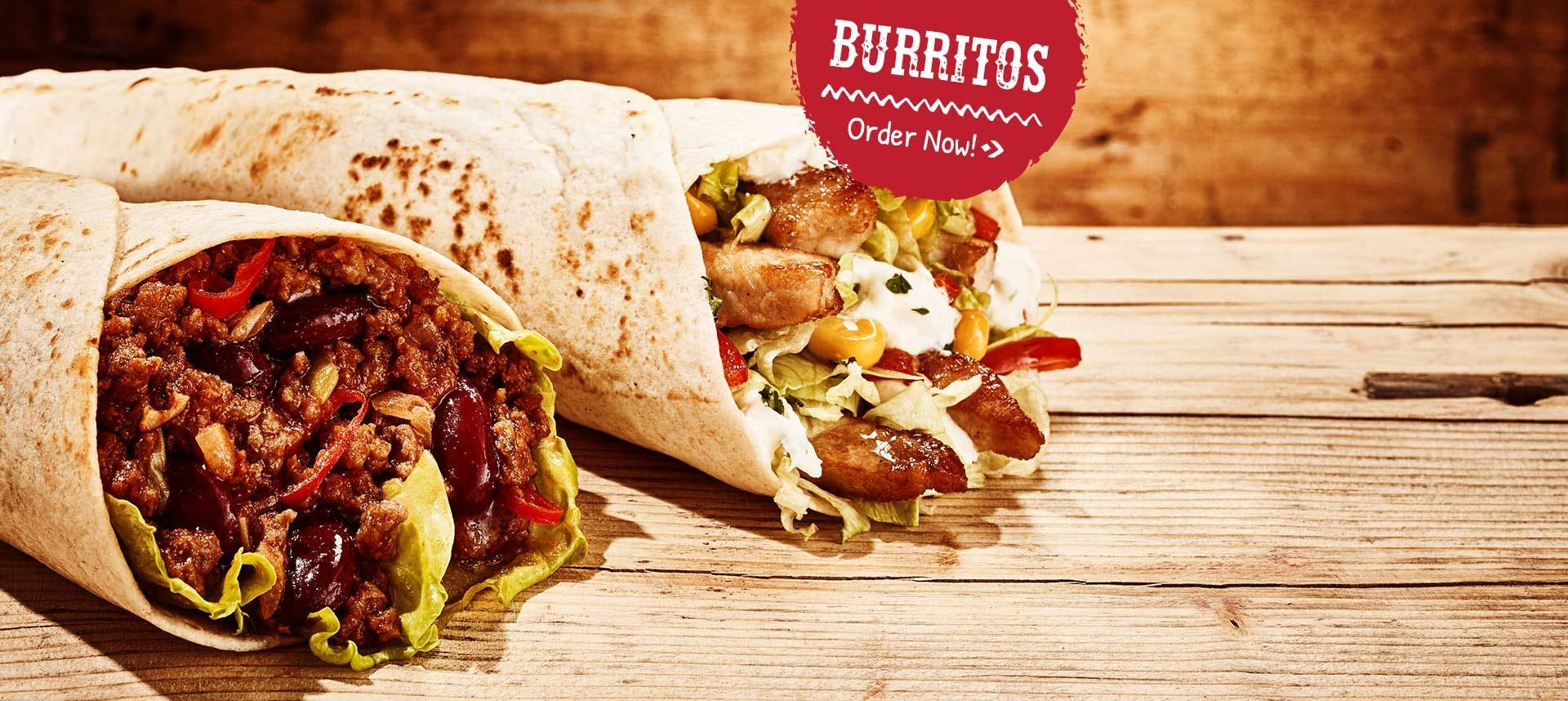 Order Burritos from Cactus Mexican