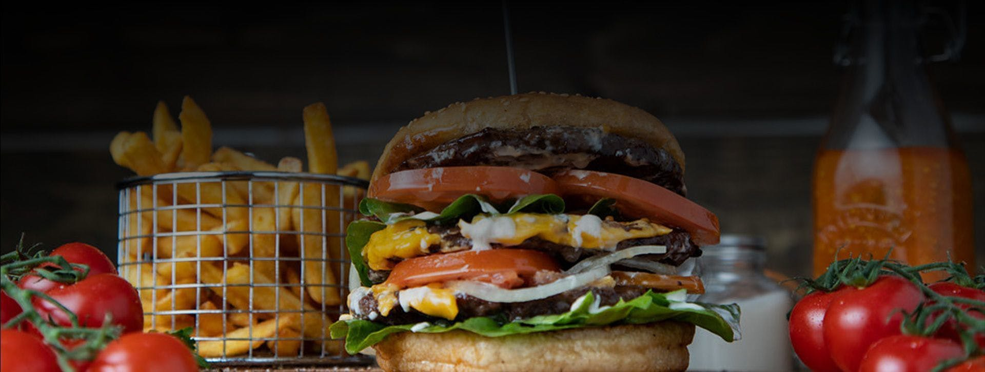 Order Gourmet Beef Burgers from Burger Plus