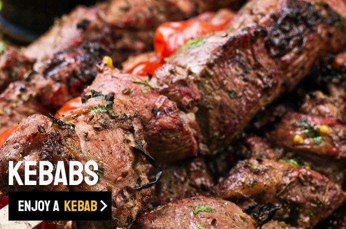 Order Kebabs from Popeyes