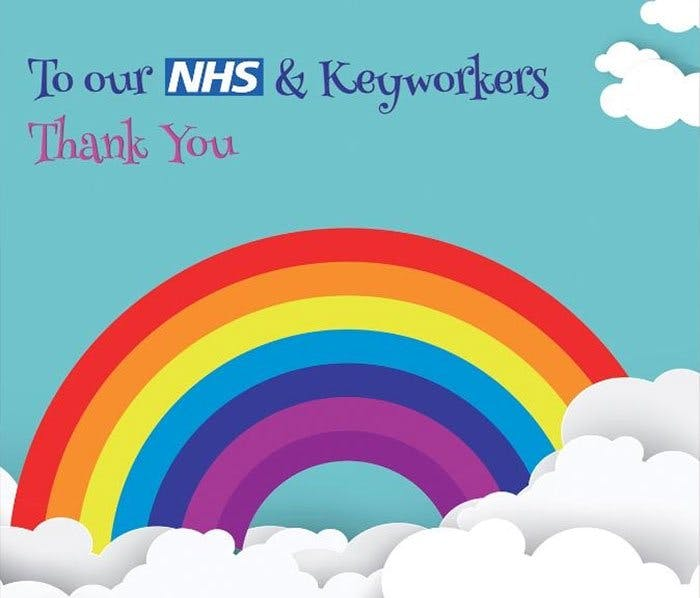 Thank you NHS Keyworkers!