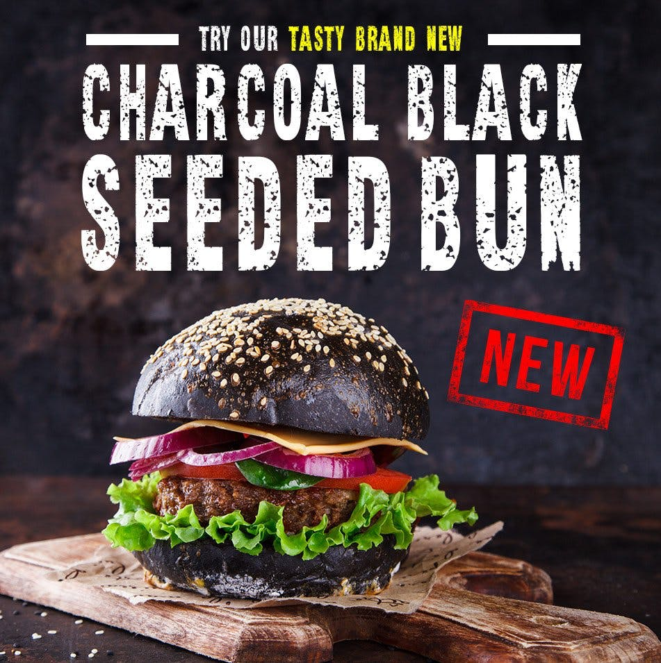 New Charcoal Bun