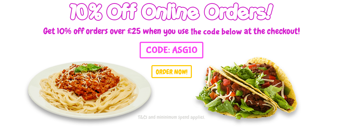 10% Off Orders Over £25