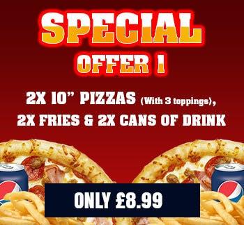 Dominics Loughborough Pizza Takeaway In Loughborough