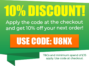 10% Off Online Orders when use code U8NX at the checkout! T&Cs apply.