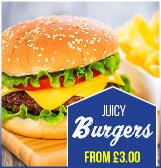 Burgers from £3!