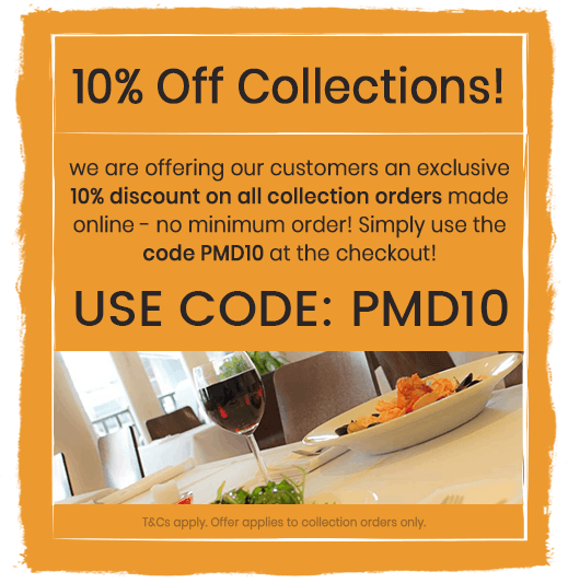 10% Off Collections when you use code PMD10 at the checkout!