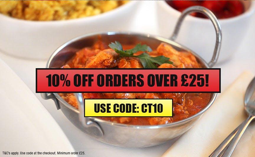10% Off Orders £25