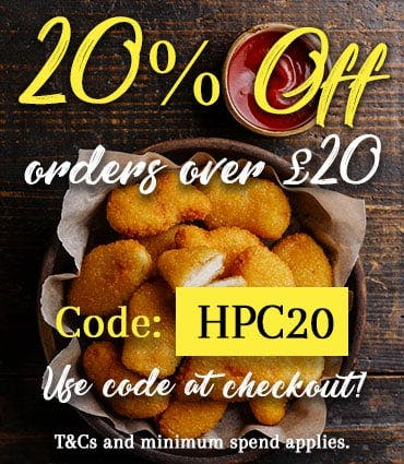 Get 20% off orders over £20 when you apply the code HCP20 today!