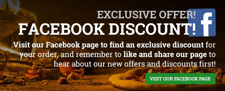 Exclusive Facebook Offer!