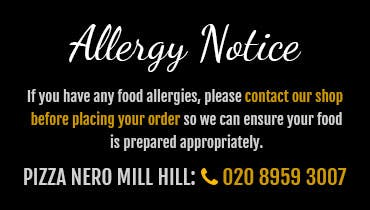 If you have any food allergies, please contact our shop before placing your order so we can ensure your food is prepared appropriately.