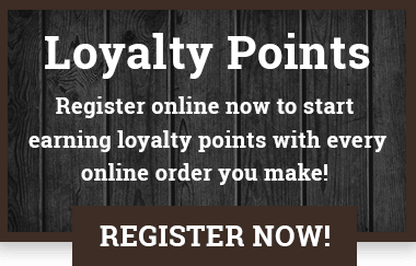 Register online to start earning points today!