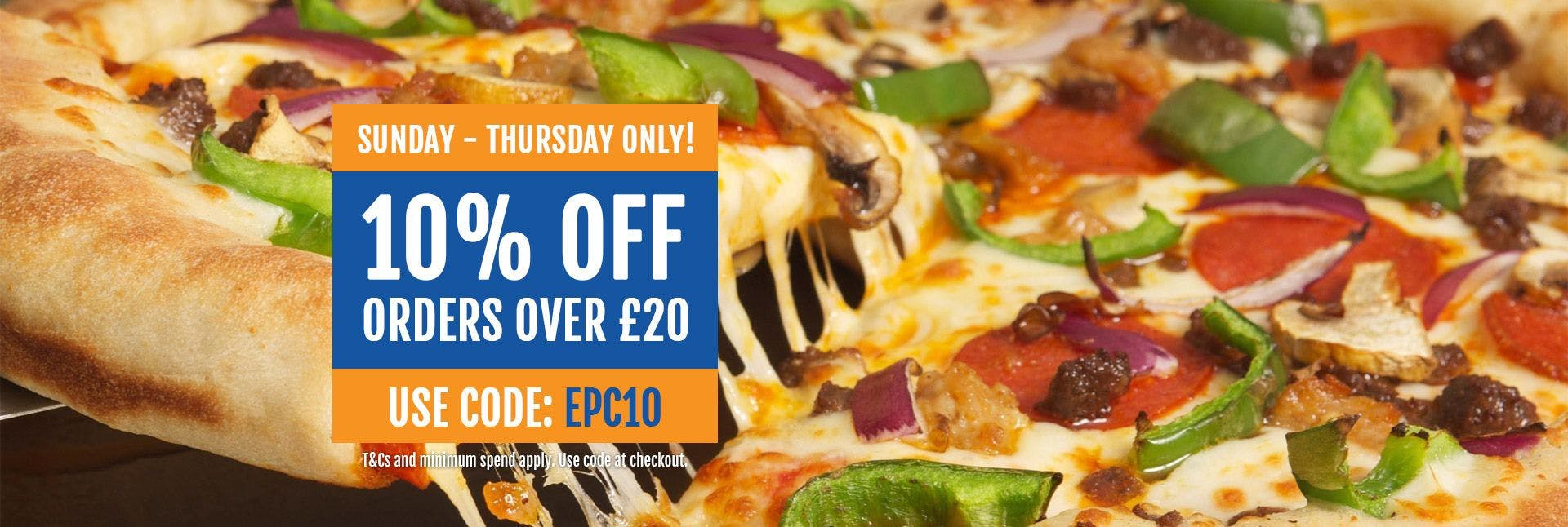 Express Pizza And Chicken Rustington Pizza Takeaway In