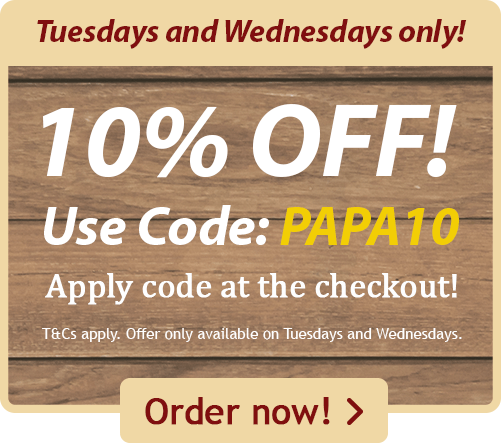 10% Off Tuesdays and Wednesdays!