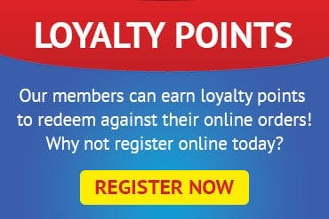 Register online as a member to earn and redeem loyalty points!