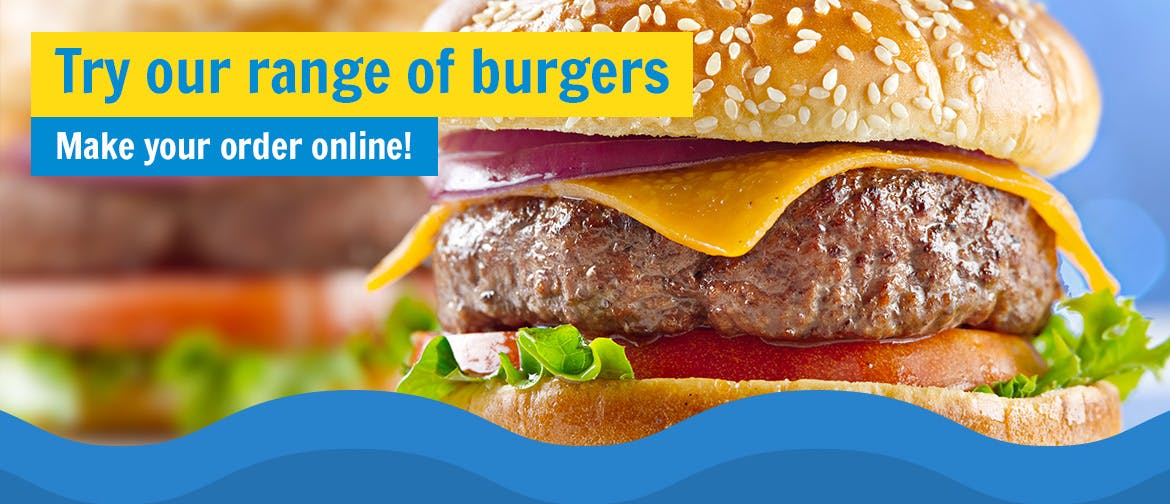 Try our range of burgers