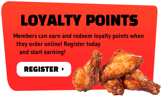 Members can earn and redeem loyalty points when they order online! Register today and start earning!