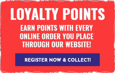 Earn points with every online order you place through our website!
