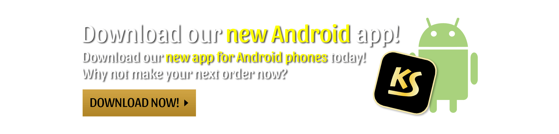 Download our new Android app!