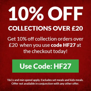 10% off collections over £20 when you use code NF27 at the checkout! T&Cs and minimum spend apply.