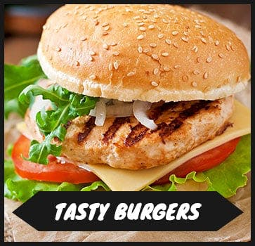 Order one of our delicious burgers today!