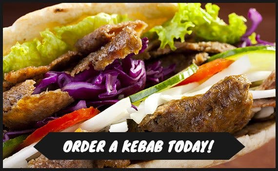 Why not order one of our delicious kebabs?