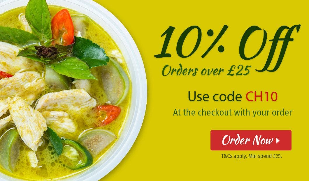 10% off orders over £25!