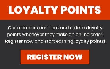 Earn and redeem loyalty points with your online orders! Register today!
