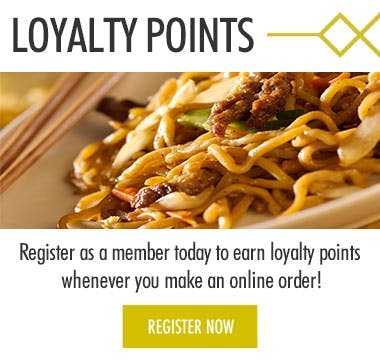 Earn loyalty points when you register today!
