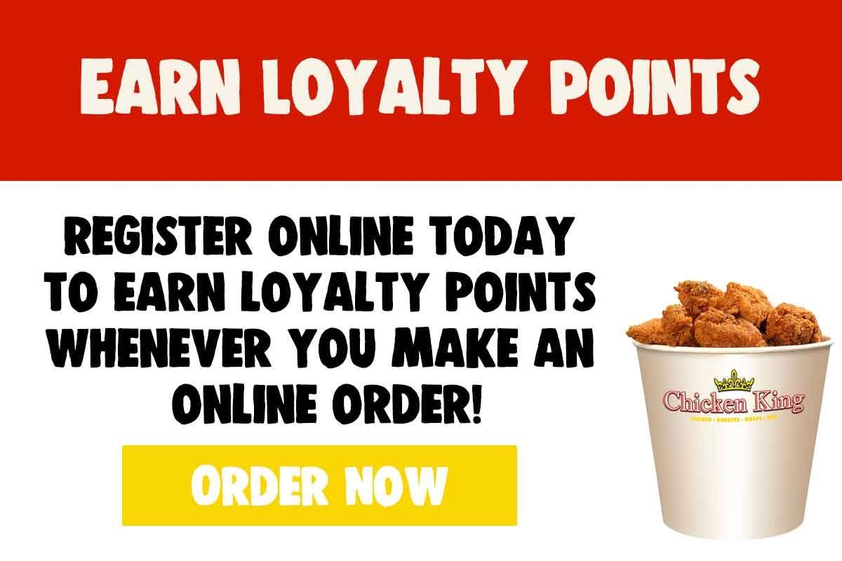 Chicken King Loyalty Points