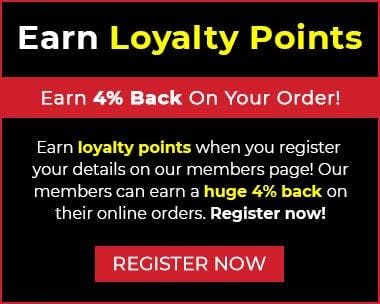 Our members can earn and redeem loyalty points with their online orders. Why not register today?