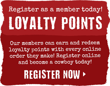 Earn Loyalty Points when you become a member today!