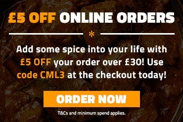 £5 off orders over £30 with code CML3 at the checkout! T&Cs and min spend apply.