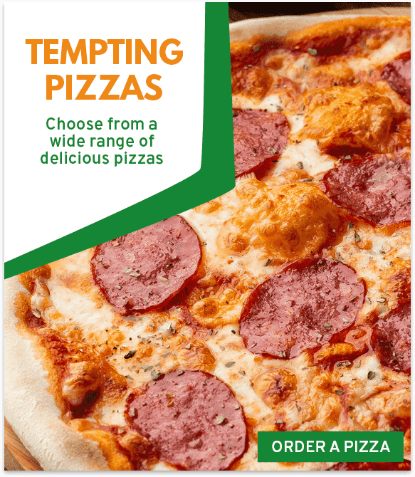 Order a perfect pizza from Pizza & Shake