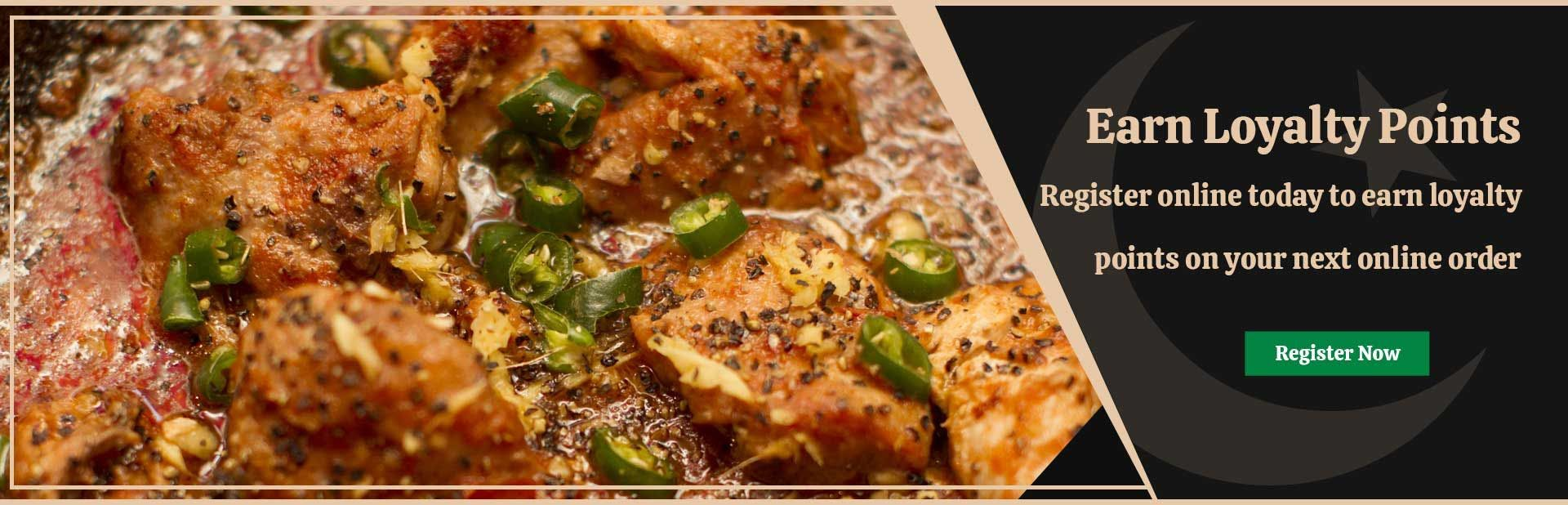 Earn Loyalty Points from Khyber Pass Restaurant