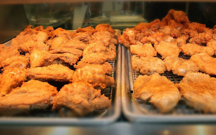 Order Fried Chicken from The Flamin Chicken