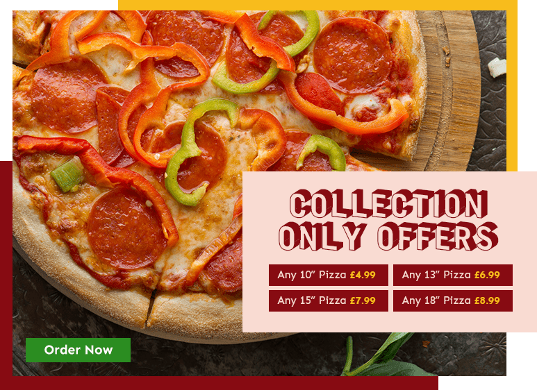 Collection Offers from Palace Pizza Grill