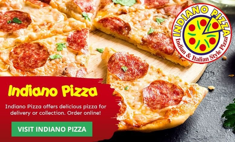Visit Indiano Pizza!