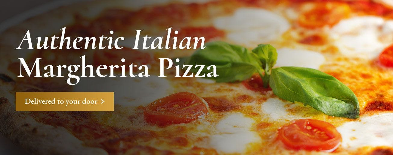 Authentic Italian Margherita Pizza