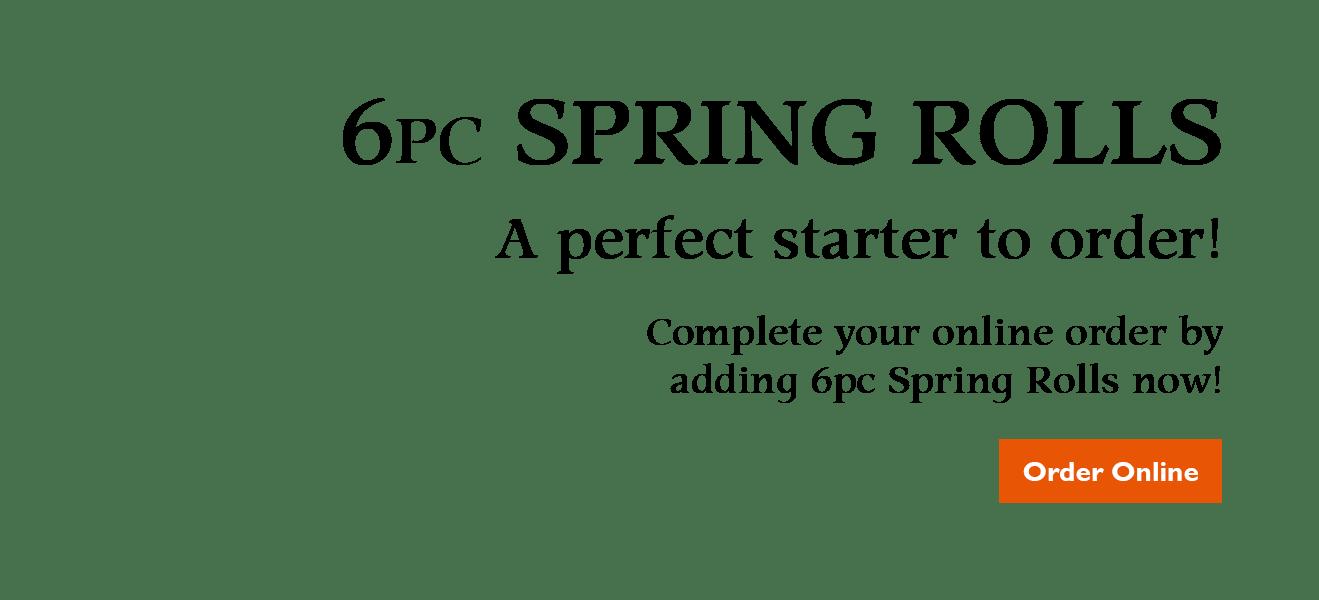 6pc Spring Rolls